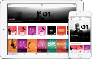 Nova área dinâmica da rádio Beats 1 no Apple Music
