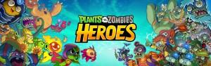 Jogo Plants vs. Zombies Heroes