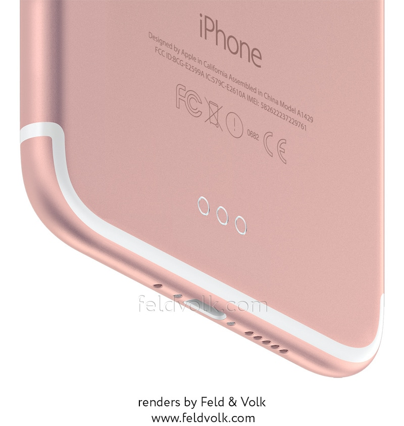 "Render do ""iPhone 7"""