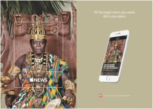 Anúncio do News, da Apple