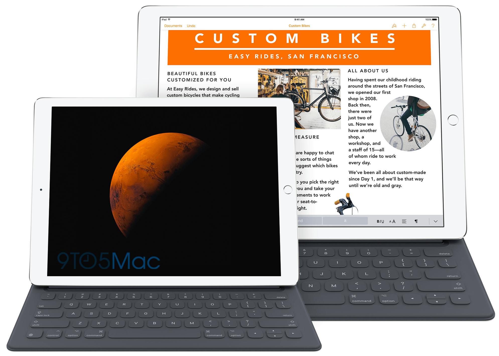 iPad Pro (de 12,9 e 9,7 polegadas)