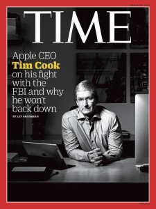Tim Cook na capa da TIME