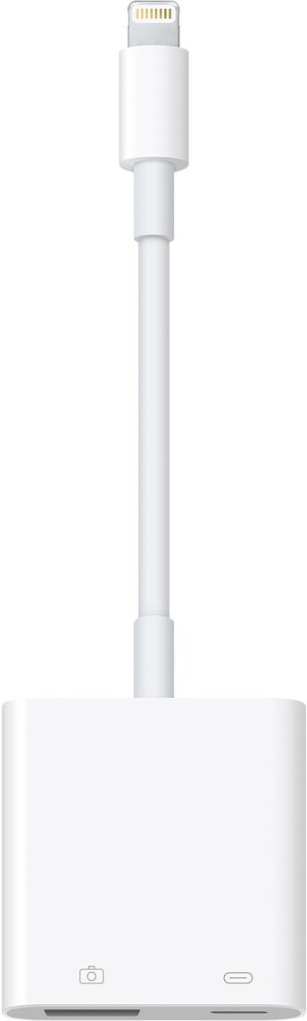 Apple - Adaptador de Lightning para câmera com USB 3