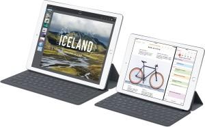 iPads Pro de 12,9 e 9,7 polegadas com Smart Keyboards
