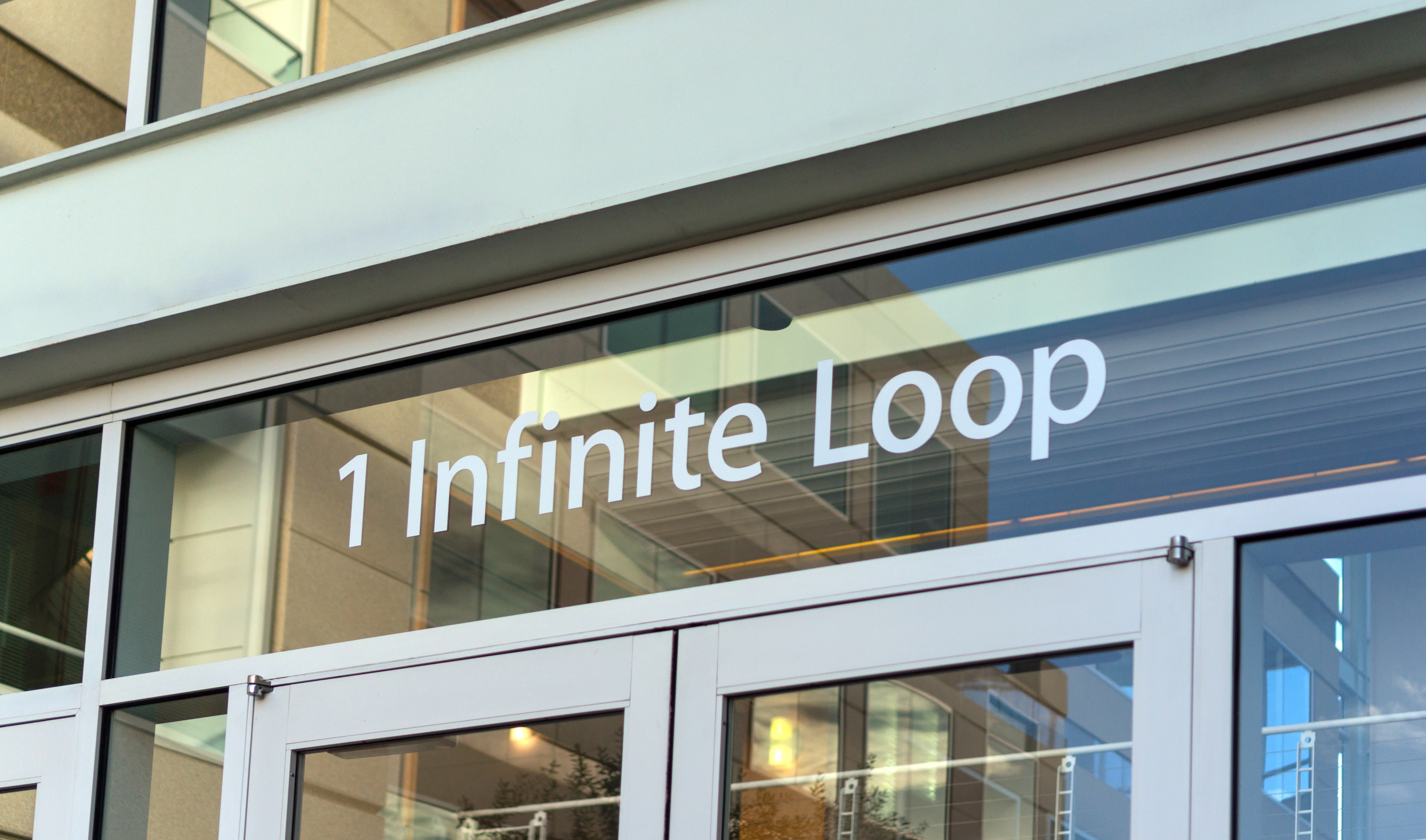 Entrada da Apple em 1 Infinite Loop