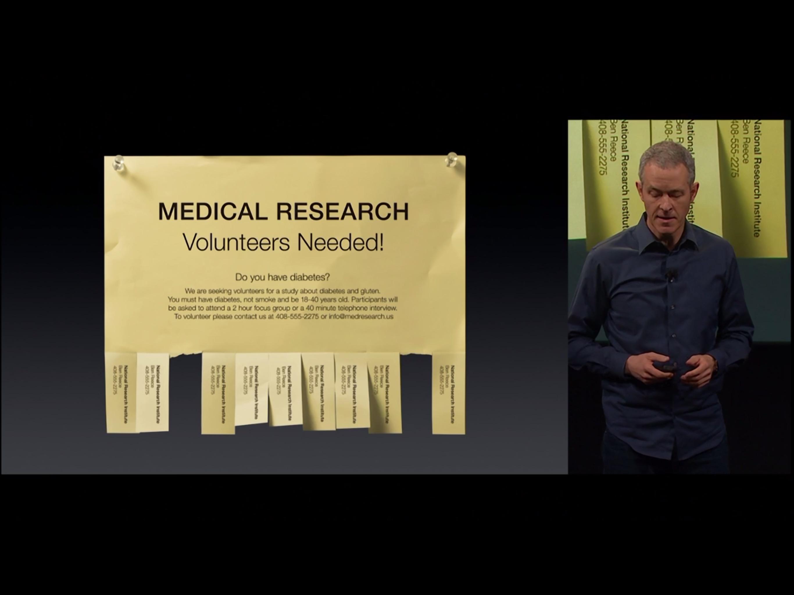 Apple falando sobre saúde - Evento especial (21/3)