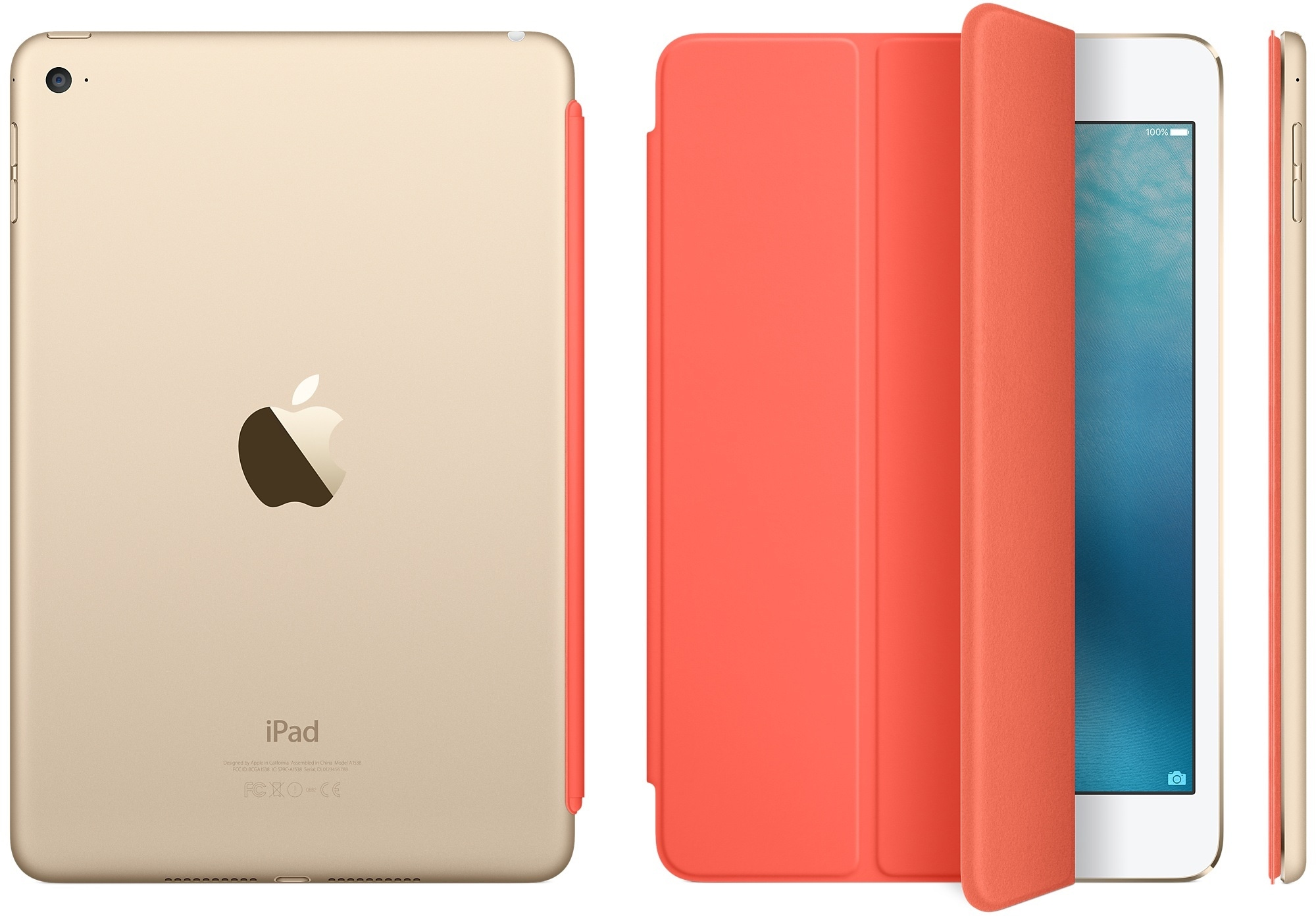 Smart Cover na cor damasco para iPad mini 4