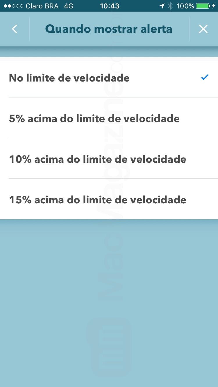 App Waze agora com limite de velocidade