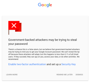 Segurança no Gmail