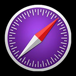 Ícone - Safari Technology Preview