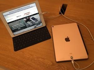 iPads Pro de 9,7 polegadas em Apple Store