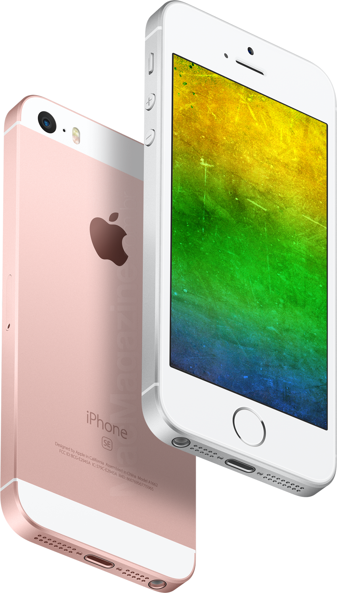 iPhones SE com as cores do Brasil (by MacMagazine)