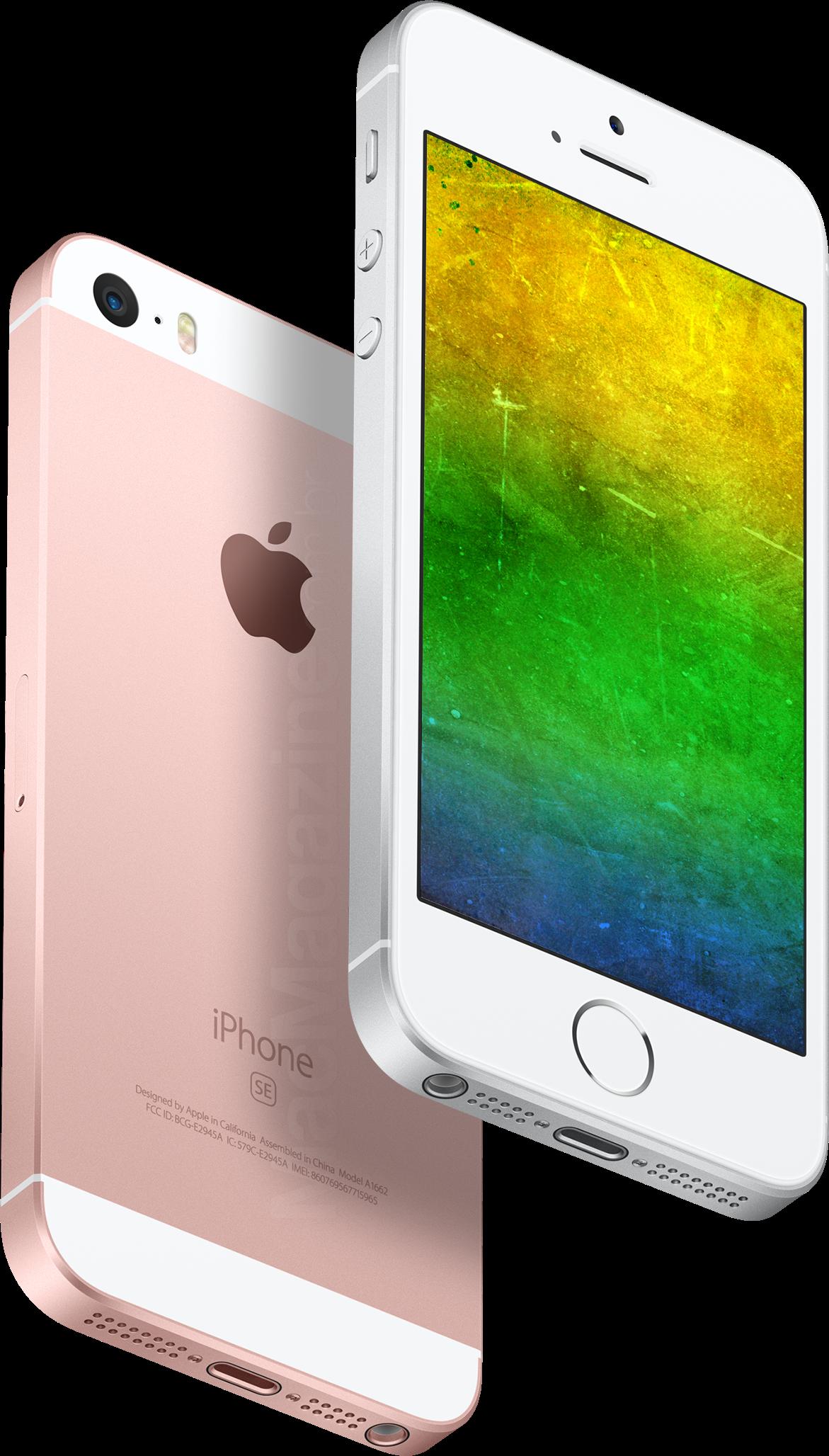 iPhones SE com as cores do Brasil (by MacMagazine)