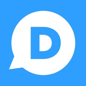 Ícone do app Disqus para iPhone