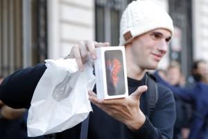 Sacola de plástico da Apple