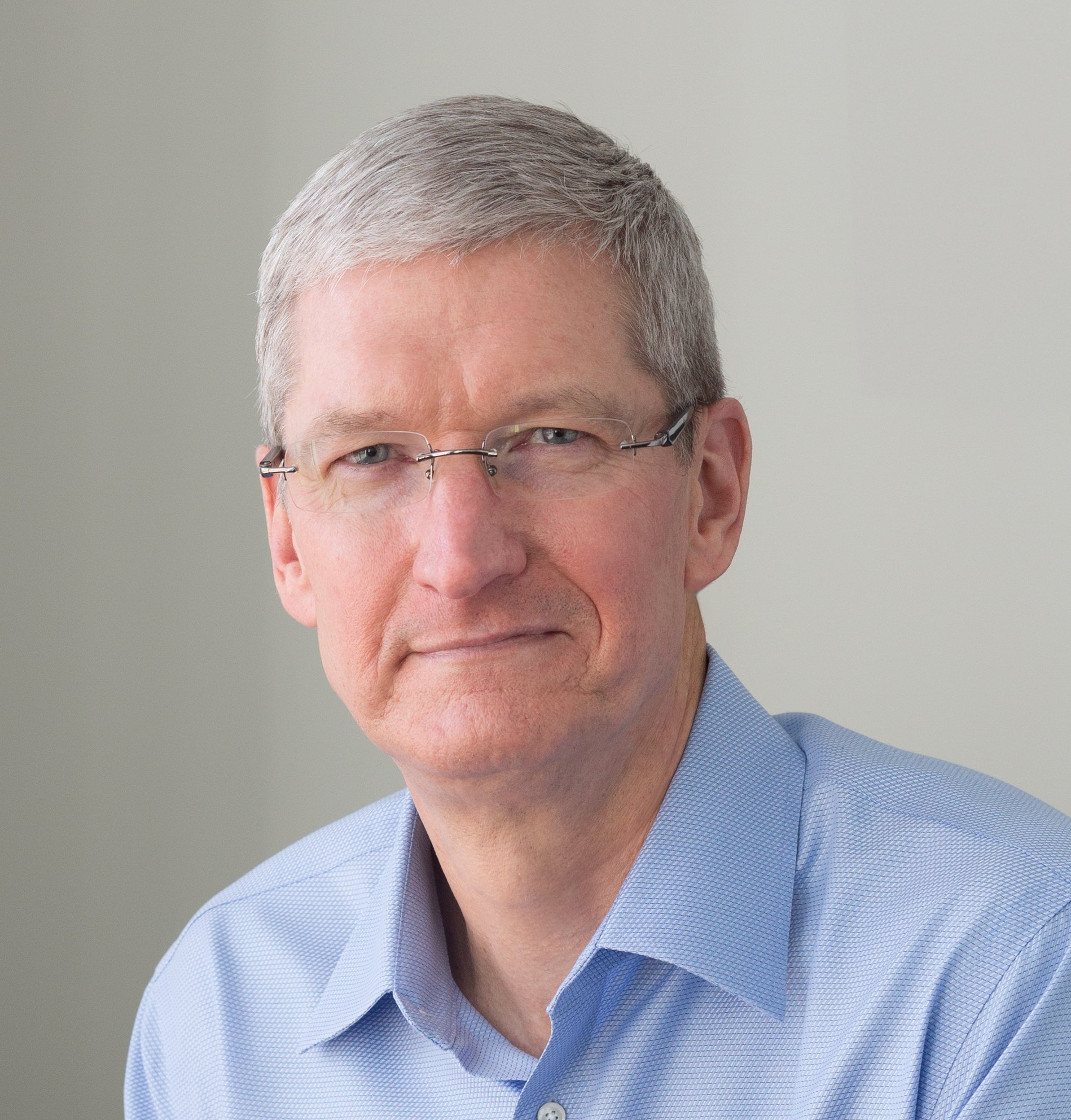 Retrato de Tim Cook (foto do Robert F. Kennedy Human Rights)