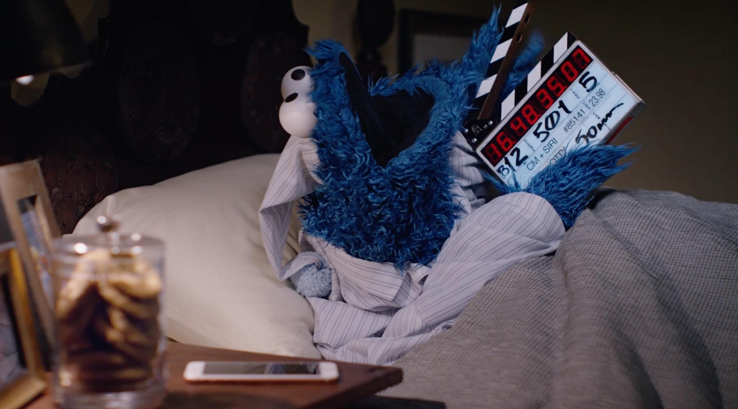 """""""Bastidores"""" do comercial do iPhone 6s com Cookie Monster"""