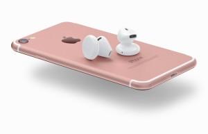 """Conceito para o """"iPhone 7"""" e os fones AirPods"""