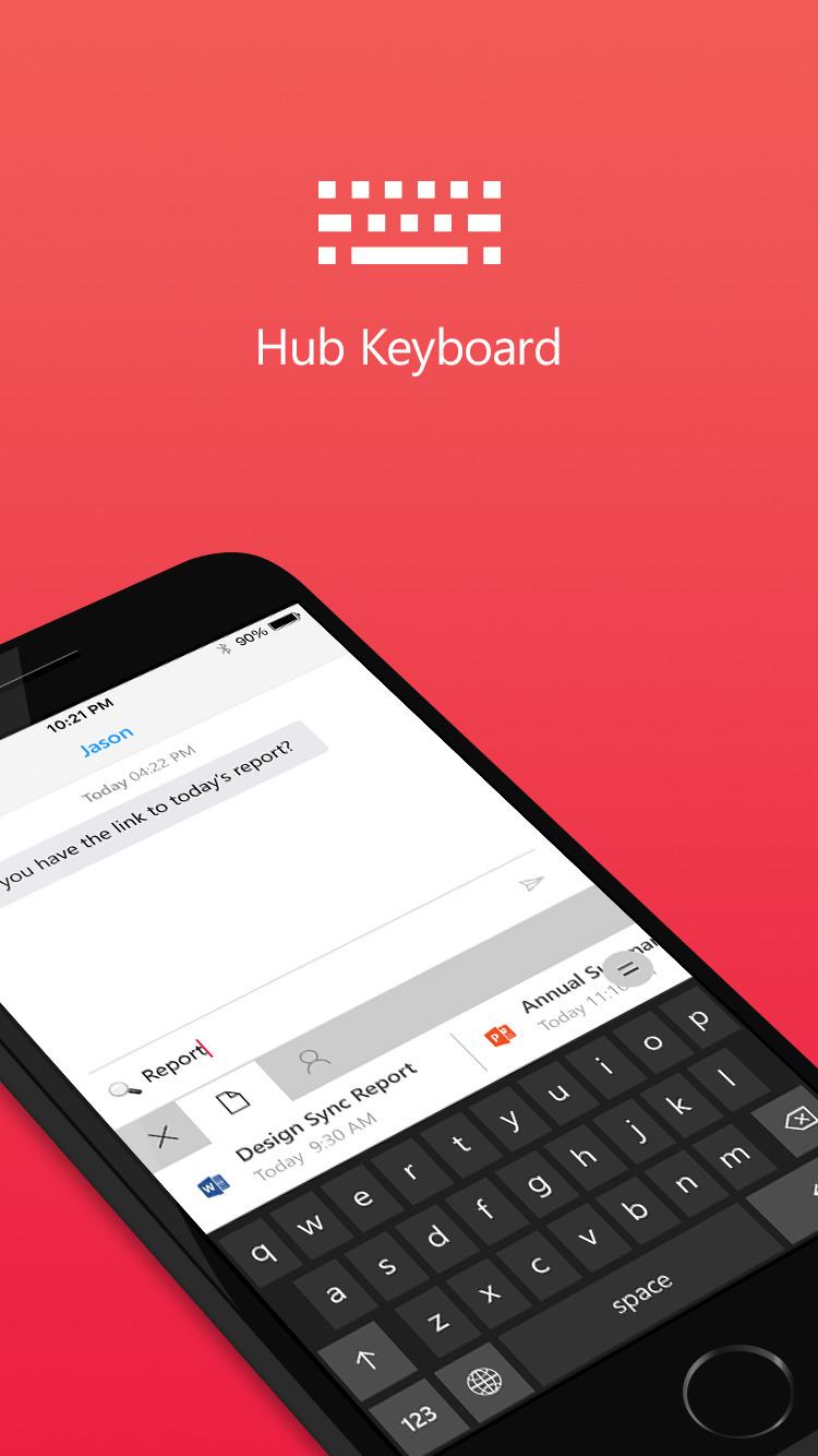 Microsoft - Hub Keyboard