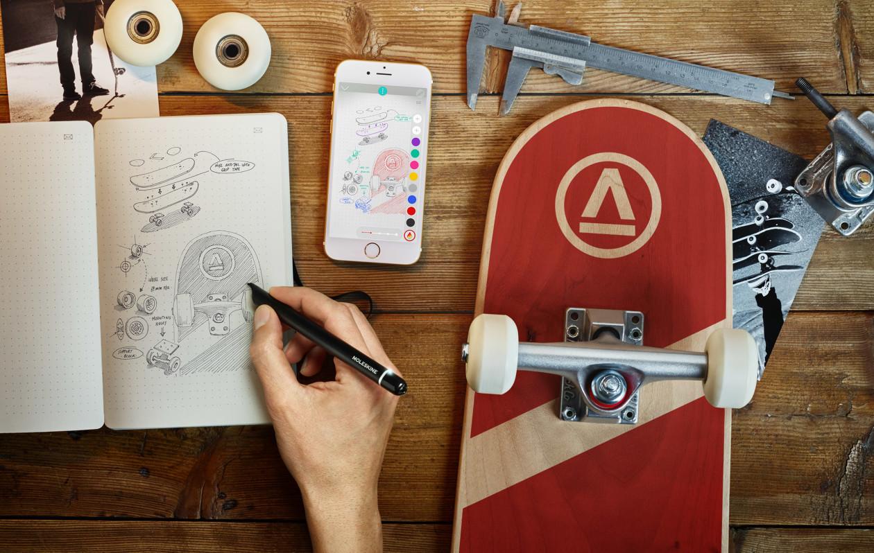 Moleskine anuncia o Smart Writing Set, kit para digitalizar seus rabiscos manuais