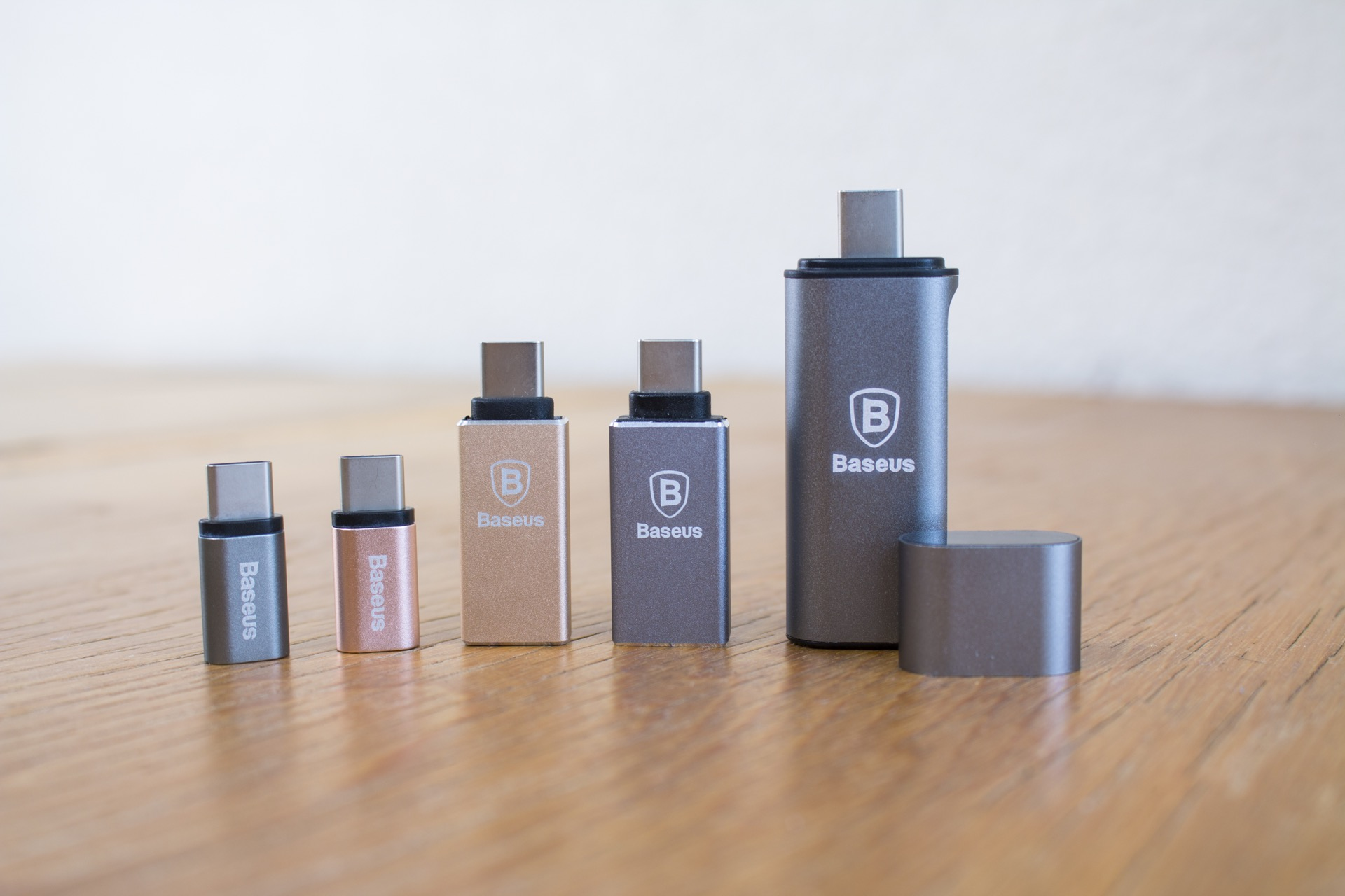 Acessórios USB-C, da Baseus