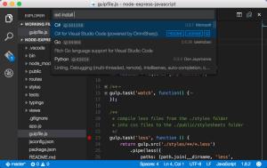 Microsoft Visual Studio Code 1.0