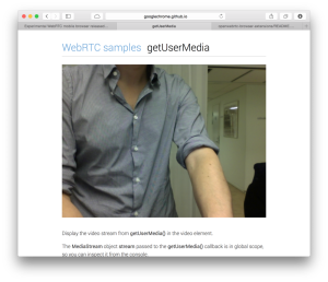 WebRTC no Safari