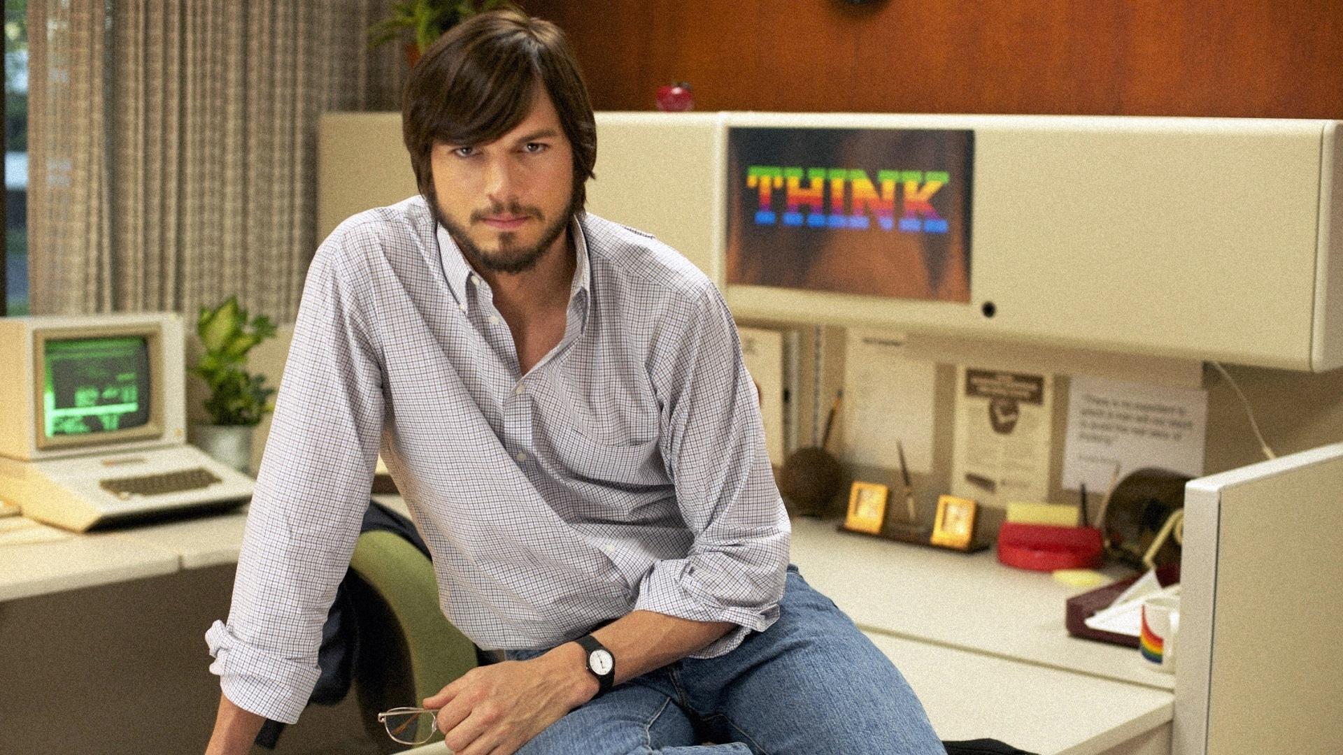 Ashton Kutcher como Steve Jobs