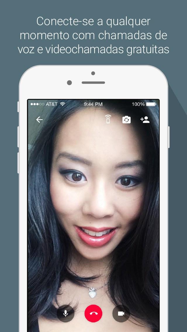 App Hangouts para iOS