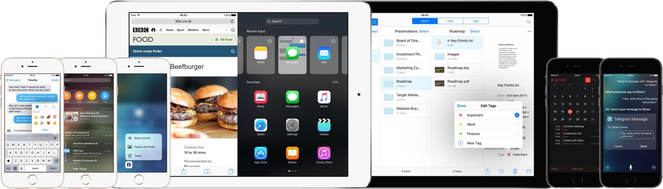 Conceito do iOS 10