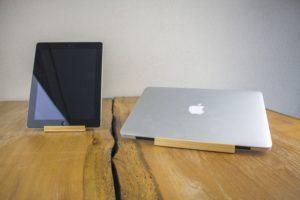 Stands da ROCK com iPad e MacBook