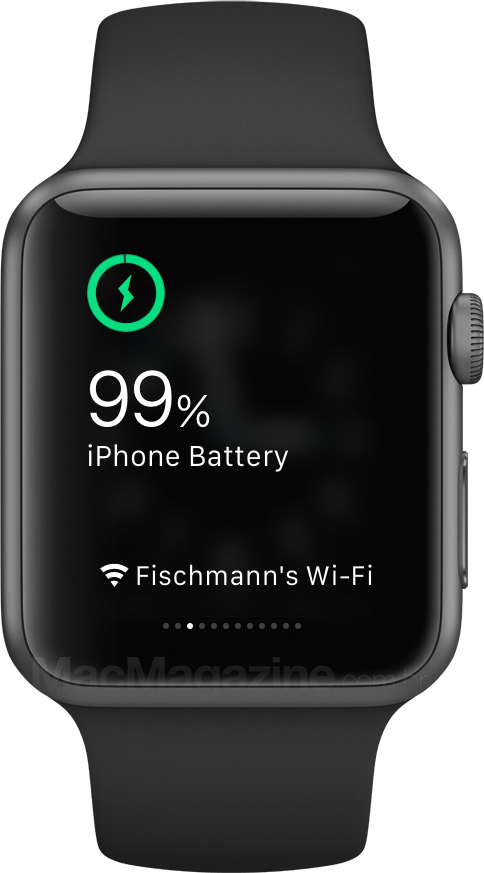 Charge no Apple Watch