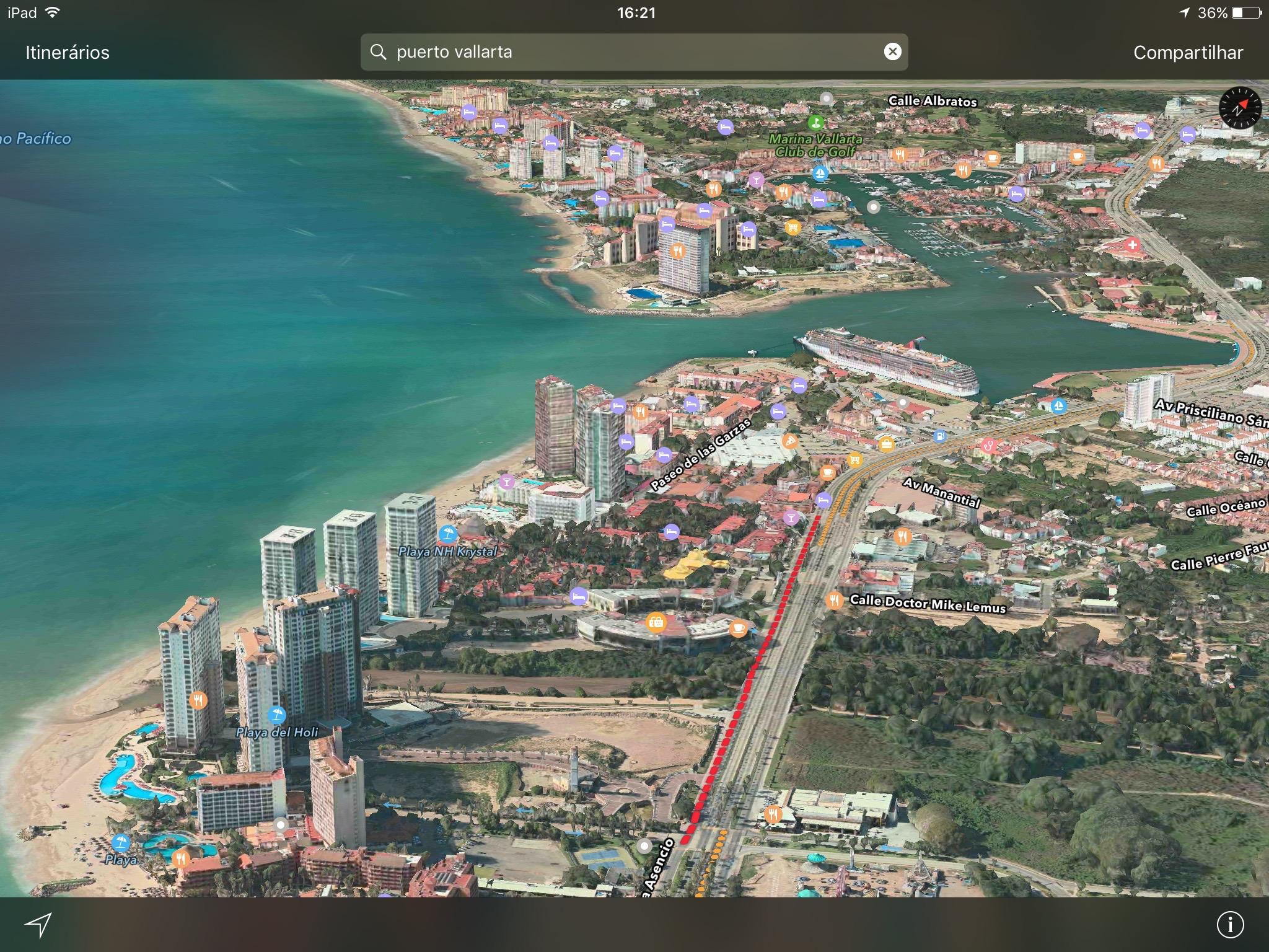 Novo Flyover no Apple Maps