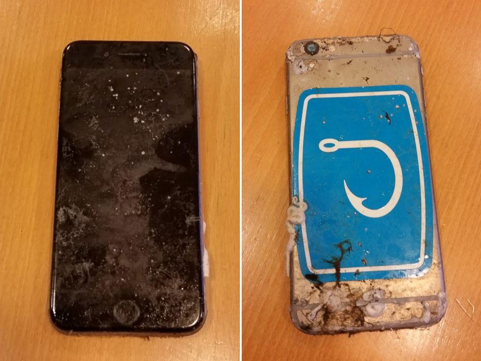 Iphone submerso de menino desaparecido