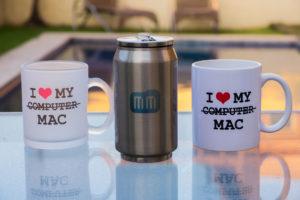 Canecas e garrafa metálica - MM Store