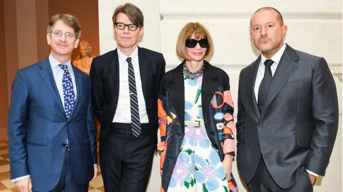 Jonathan Ive e personalidades da moda no Met Gala