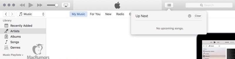 Screenshot do iTunes 12.4