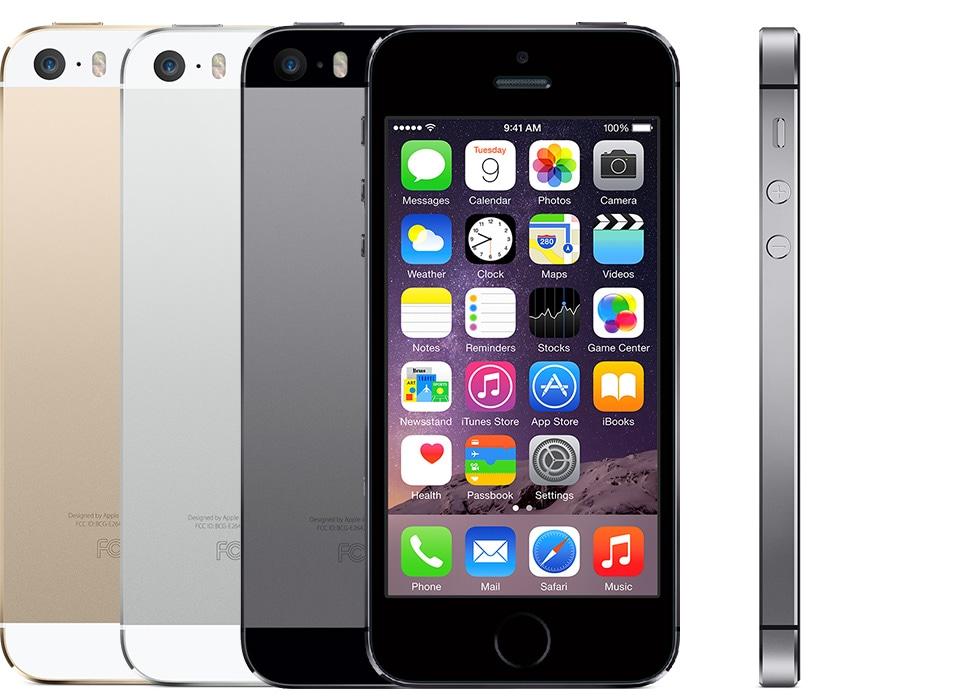 Família do iPhone 5s