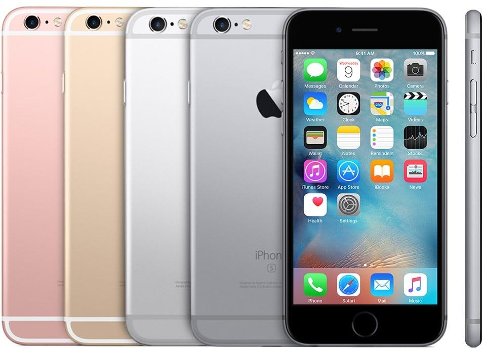 Família do iPhone 6s