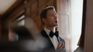 Neil Patrick Harris em comercial do iPhone 6s com a Siri
