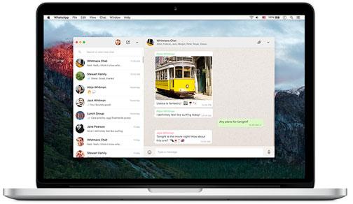 WhatsApp para OS X