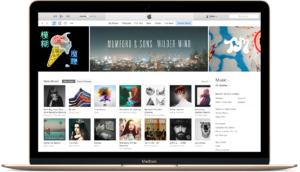 iTunes num MacBook