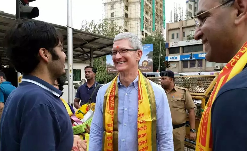 Tim Cook indiano