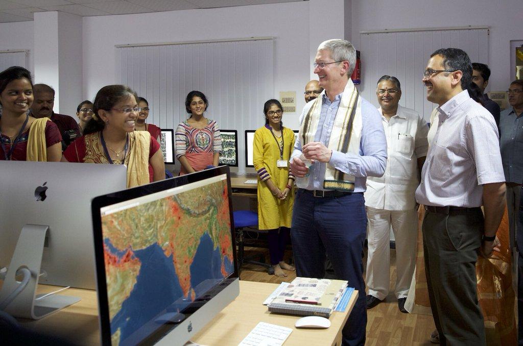 Laboratório de macs na Índia