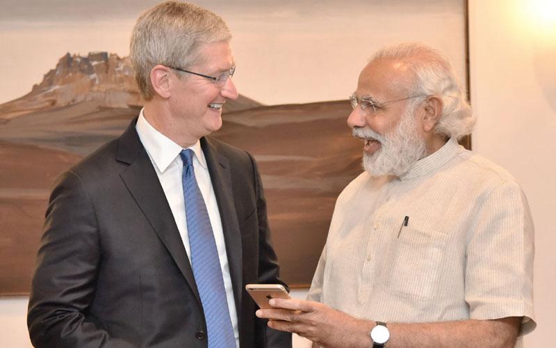 Tim Cook Primeiro ministro Índia