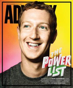 Mark Zuckerberg na capa da Adweek