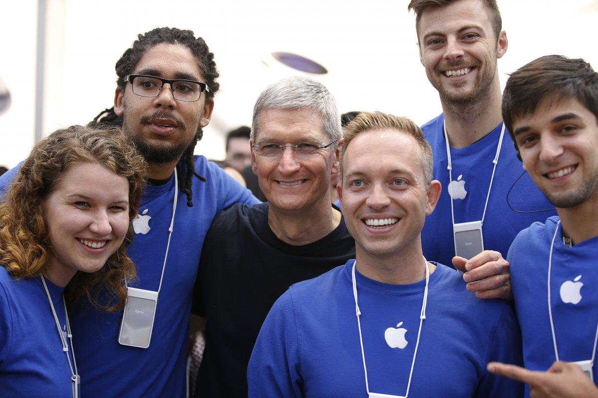 Empregados da Apple