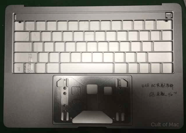 Suposta carcaça do novo MacBook Pro