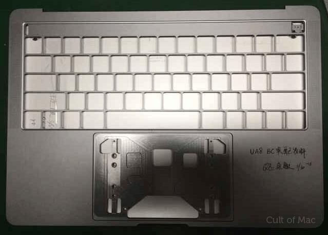 Suposta carcaça do novo MacBook Pro