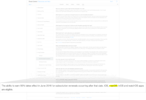 Indícios do nome macOS no site da Apple
